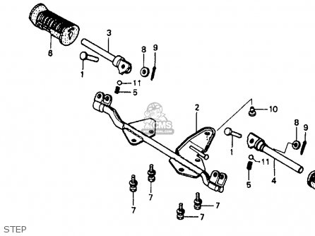 Honda Sl70 Wiring Diagram on honda ct90 parts diagram