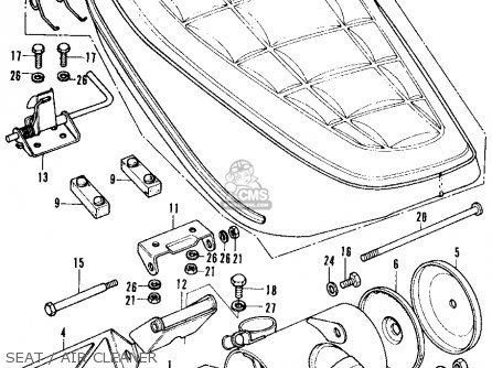 Honda Ct Trail Ct K Usa Seatair Cleaner Mediumhu F B on Honda Trail 70 Wiring Harness
