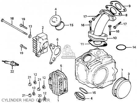 honda ct70 trail 70 1977 usa parts list partsmanual partsfiche. Black Bedroom Furniture Sets. Home Design Ideas