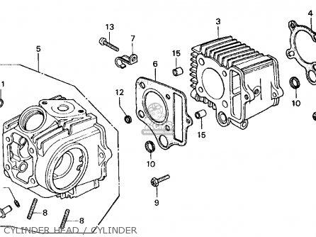honda ct70 trail 70 1977 usa parts lists and schematics. Black Bedroom Furniture Sets. Home Design Ideas