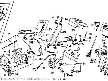 honda ct70 trail 70 1980 a usa parts list partsmanual. Black Bedroom Furniture Sets. Home Design Ideas