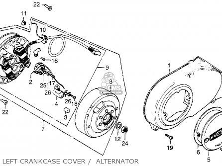 honda ct70 trail 70 1981  b  usa parts lists and schematics