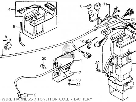 honda ct70 trail 70 1981  b  usa parts list partsmanual