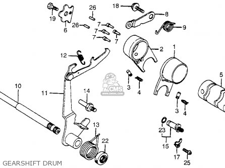 Honda Trail 110 Wiring Diagram
