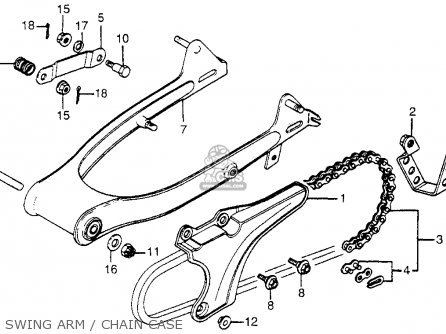 honda ct70 trail 70 1982  c  usa parts list partsmanual