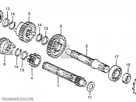 Honda Ct Trail C Usa Transmission Mediumhu E A A A on Honda Trail 70 Carburetor Diagram
