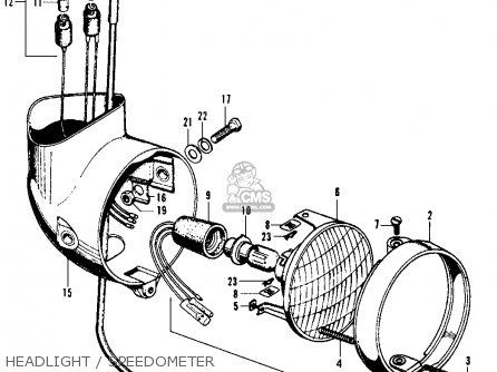 1970 honda ct70 wiring diagram