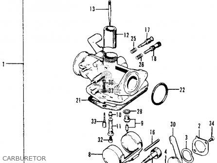 1970 Honda Trail 70 Wiring Diagram further 1968 Honda Ct90 Wiring Diagram furthermore Honda S90 Wiring Diagram together with Honda Cb900 Carburetor besides 1981 Honda Xl500s Wiring Diagram. on honda ct90 battery wiring diagram