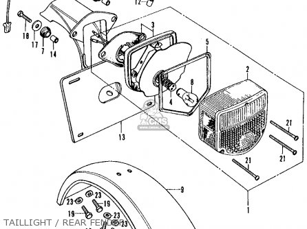 1970 honda trail 70 wiring diagram honda trail 70 engine