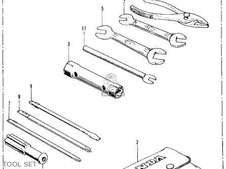honda ct70 trail 70 k2 1973 usa parts lists and schematics. Black Bedroom Furniture Sets. Home Design Ideas