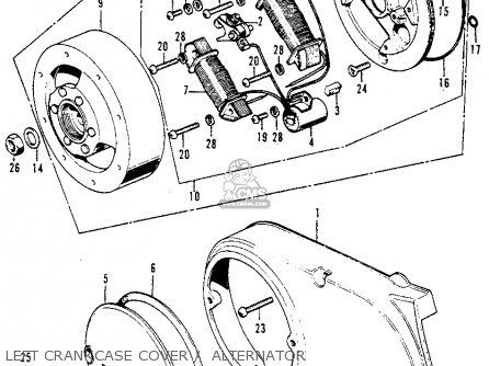 honda ct70h trail 70h k0 1970 usa left crankcase cover alternator_mediumhu0223e8004_278a 1970 honda cb 750 wiring diagram 1970 find image about wiring,Honda 750 Wiring Diagram