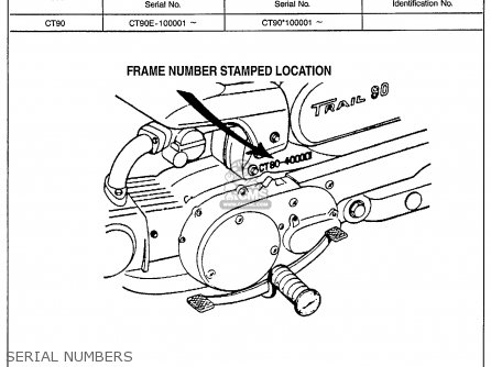 1968 Honda 90 Parts Diagram