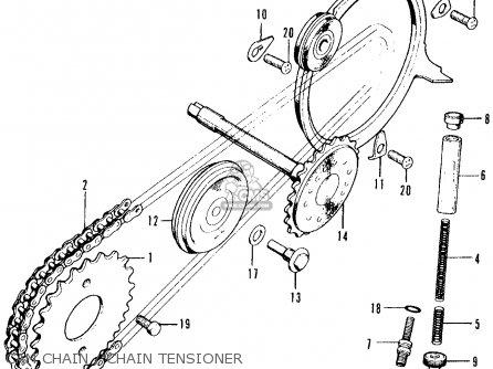 honda ct90 trail 1969 k1 usa parts lists and schematics honda 1967 trail 90 wiring diagram 1969 honda 90 wiring diagram #10