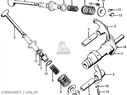 Partslist on Honda Ct200 Trail 90 1964 Usa Parts List Partsmanual Partsfiche