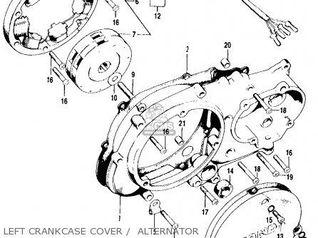Honda Ct90 Trail 1969 K1 Usa Parts Lists And Schematics