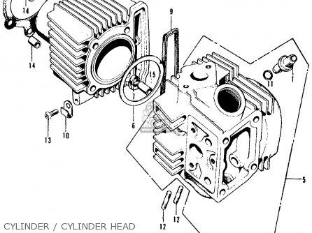 honda ct90 trail 1970 k2 usa parts lists and schematics. Black Bedroom Furniture Sets. Home Design Ideas