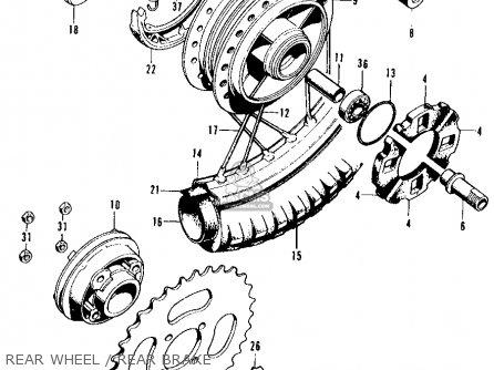 2003 Polaris Sportsman 400 Wiring Diagram likewise Wiring Diagram For 1970 Honda Ct70 together with 1982 Honda Xr200r Headlight Stay together with Motor For Honda Ct90 moreover Honda C100 Carburetor Diagram. on honda trail 90 wiring diagram