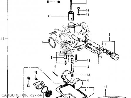 1970 honda ct90 wiring diagram honda ct90 trail 1972 k4 usa parts lists and schematics