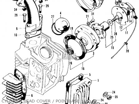 cylinder head cover / pointbase