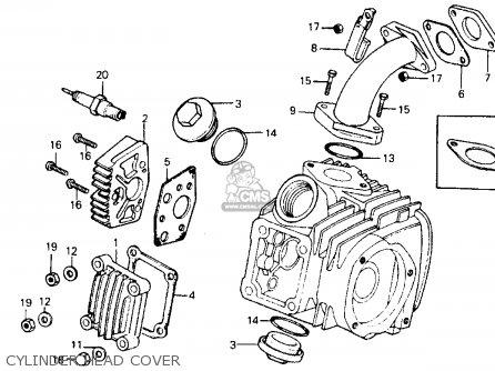 Partslist on Honda Ct200 Trail 90 1964 Usa Wire Harness Schematic Partsfiche