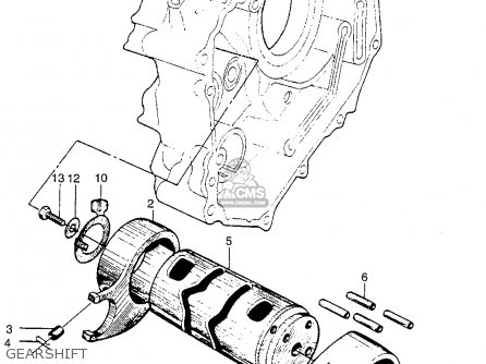 Honda Ct90 Trail 90 1966 Ct90k0 Usa Gearshift