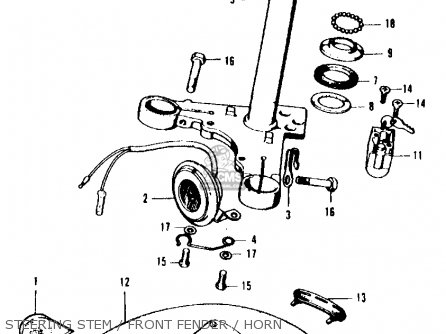 honda ct90 motorcycles honda cb200 twin wiring diagram