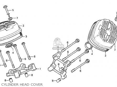 Honda Cx500 1978 Australia Cylinder Head Cover