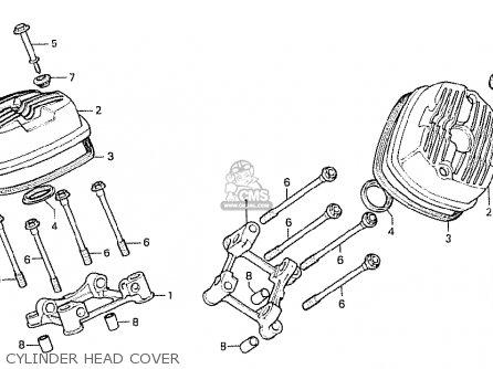Honda Cx500 1978 Canada Cylinder Head Cover