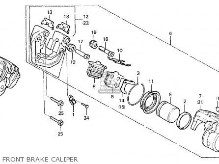 Honda Cx500 1978 England Front Brake Caliper