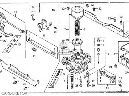 Honda Cx500 1978 France Carburetor