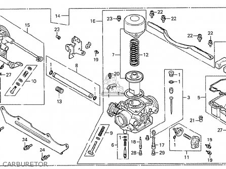 Honda Cx500 1978 South Africa Carburetor