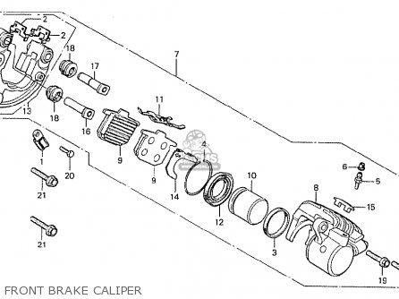 Honda Cx500 1978 South Africa Front Brake Caliper