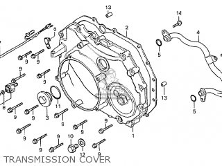Honda Cx500 1978 South Africa Transmission Cover