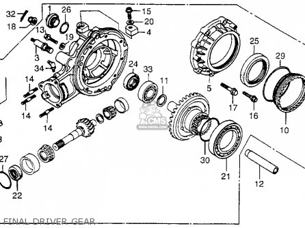 Lower Unit Oil Pump on honda lower unit diagram