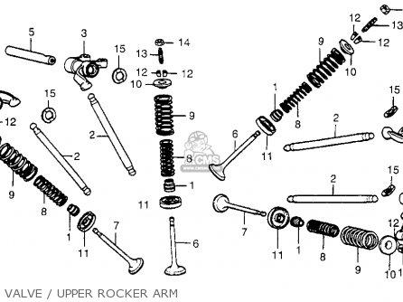 Honda Cx500 1979 z Usa Valve   Upper Rocker Arm