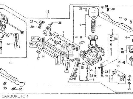 Honda Cx500 1980 a European Direct Sales Carburetor