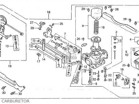 Honda Cx500 1981 b Australia Carburetor