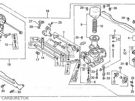 Honda Cx500 1981 b General Export   Kph Carburetor