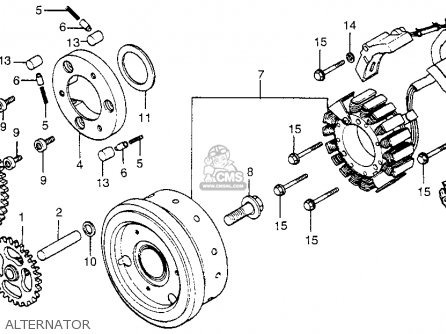 Honda Lower Unit Diagram