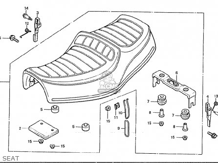 Honda Cx500c Custom 1980 a Germany   Full Power Seat
