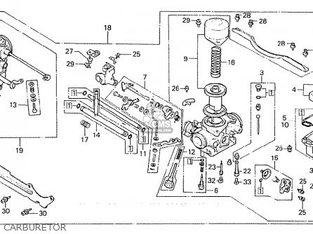 Honda Cx500c Custom 1981 b European Direct Sales Carburetor