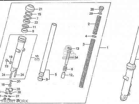 Honda Cx500c Custom 1981 b Germany   Full Power Front Fork