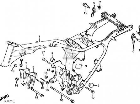 Honda Cx500c Custom 1981 b Usa Frame