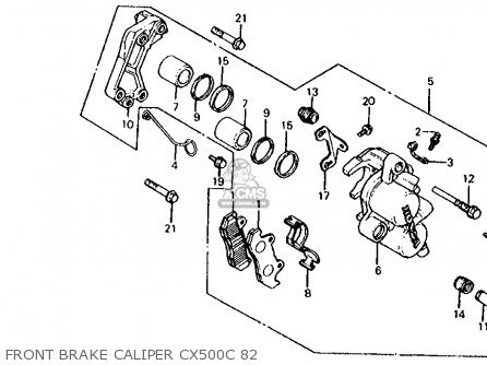 1979 Cx500 Wiring Diagram