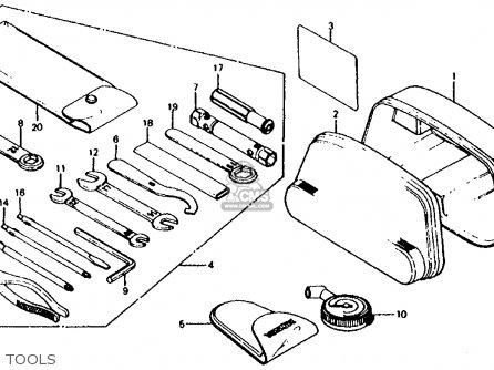 Honda Cx500d Deluxe 1980 a Usa Tools