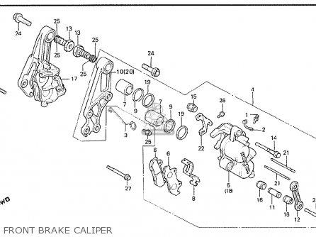 Honda Cx500t Turbo 1982 c Australia Front Brake Caliper