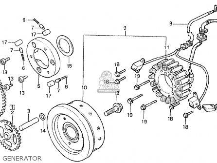 Honda Cx500t Turbo 1982 c Australia Generator