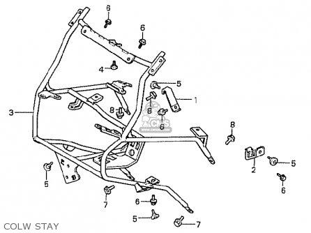 Honda Cx500t Turbo 1982 c England Colw Stay