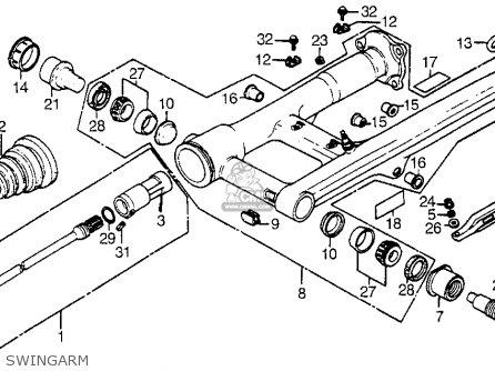 Honda Cx500t Turbo 1982 c Usa Swingarm