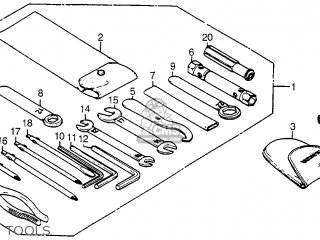 Honda Cx500t Turbo 1982 c Usa Tools